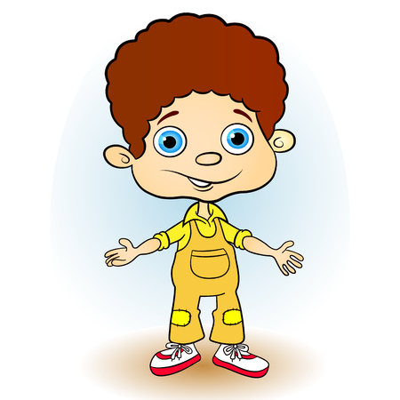 little boy Vector
