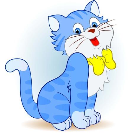 動物: 健康的小貓