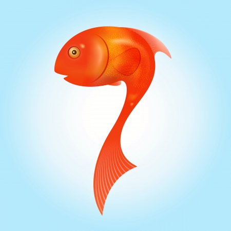 Goldfish Stock Vector - 23767077