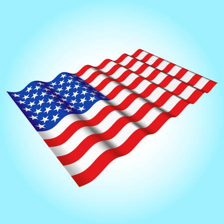 USA flag Stock Vector - 24527571