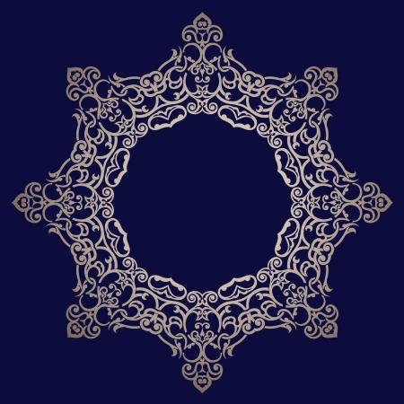 Traditional Persian-Arabic-Turkish-Islamic Pattern  Illustration