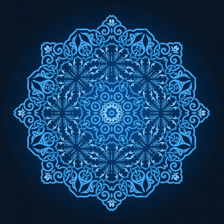 Traditional Persian-Arabic-Turkish-Islamic Pattern  Vector