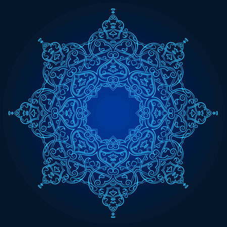 Vector of traditional Persian-Arabic-Turkish-Islamic Pattern