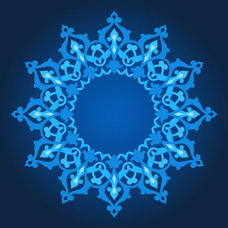 Vector of traditional Persian-Arabic-Turkish-Islamic Pattern Stock Vector - 25545289