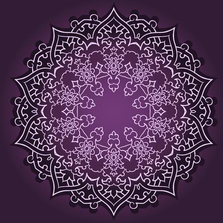 geometria: Vector de patrón persa-árabe-turco-islámica tradicional Vectores