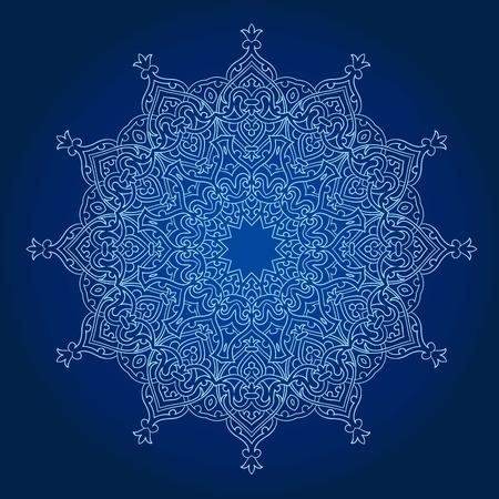 opulent: Vector of traditional Persian-Arabic-Turkish-Islamic Pattern