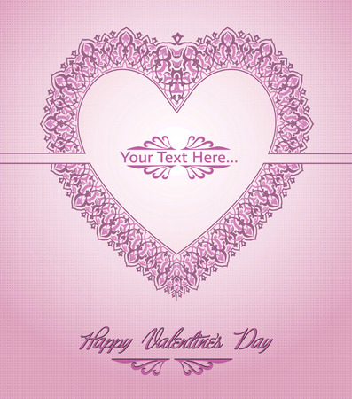 Valentine s Day Card Stock Vector - 26002204