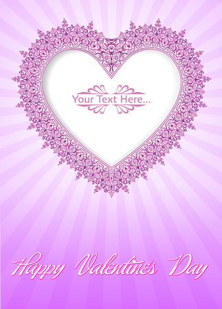 Valentine s Day Card Stock Vector - 26002205