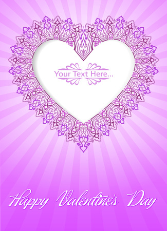Valentine s Day Card Stock Vector - 26002210
