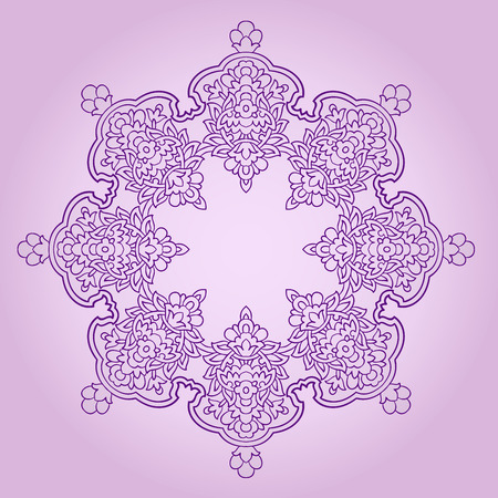 plenitude: traditional Persian-Arabic-Turkish-Islamic Pattern  Illustration
