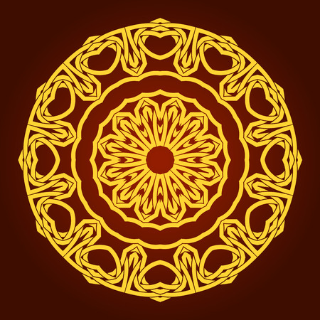 opulent: traditional Persian-Arabic-Turkish-Islamic Pattern  Illustration