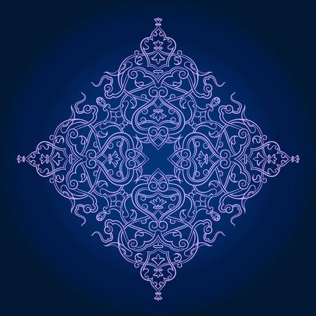 opulent: traditional Persian-Arabic-Turkish-Islamic Pattern