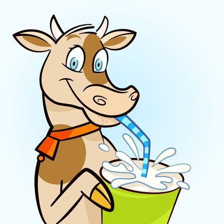 dairying: milk cow