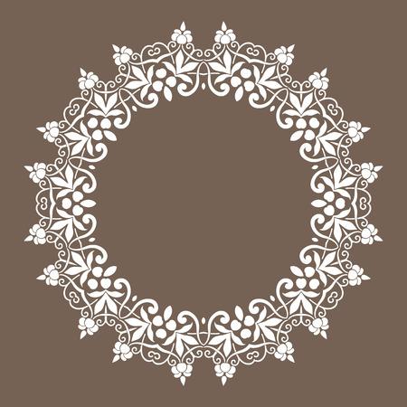 eastern religion: Traditional Persian-Islamic Pattern Illustration