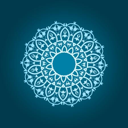 iranian: Traditional Persian-Islamic Pattern Illustration