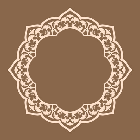 Traditional Persian-Islamic Pattern Vector