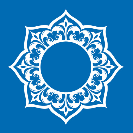 Traditional Persian-Islamic Pattern Illustration