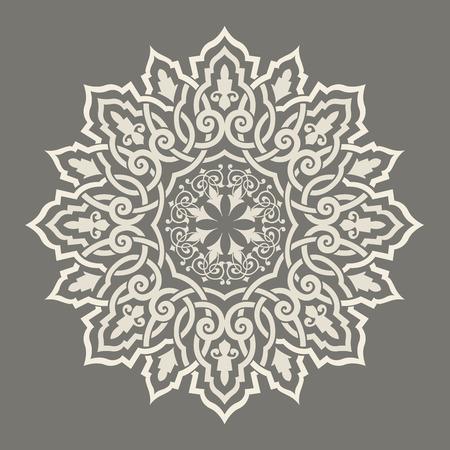 opulence: round pattern