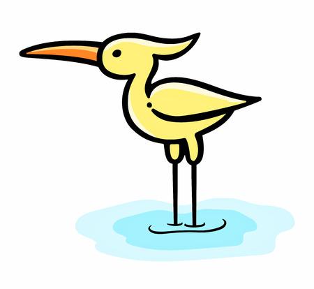 blue heron: Heron