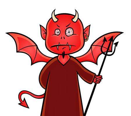 red devil: Devil