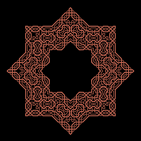splendid: traditional Persian-Arabic-Turkish-Islamic Pattern