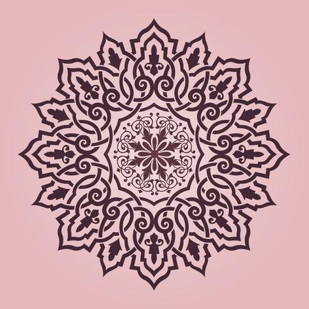 전통적인 페르시아 아랍어 터키어 - 이슬람 패턴