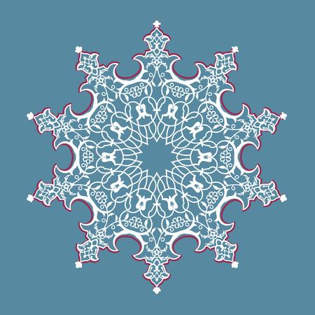 round pattern.vector