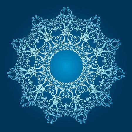 plenitude: round pattern.vector