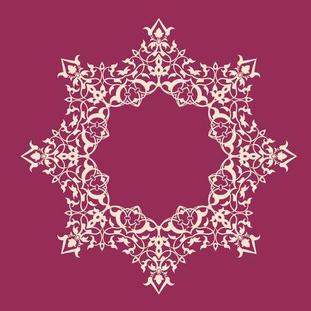 affluence: pattern.vector redonda