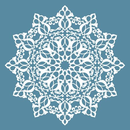 vector ornament: round pattern.vector
