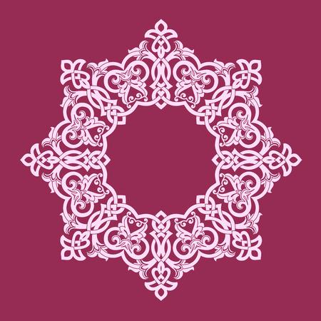 affluence: round pattern.vector