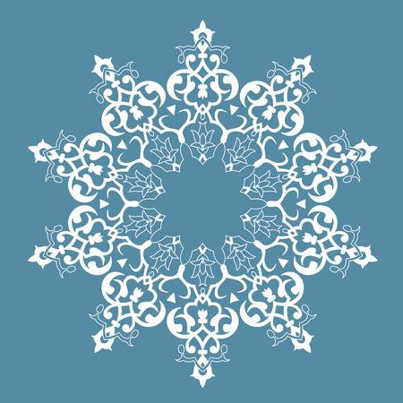 arabesco: pattern.vector redonda