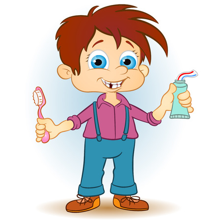 cartoon kid: art, artistic, bag, boy, cartoon, character, child, childhood, clip, colorful, cute, drawing, education, elementary, emotion, expression, fun, go, happy, healthy, illustration, joy, kid, kindergarten, little, luck, male, painting, people, person, play, pr Illustration