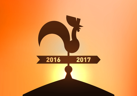 Year of Rooster, New Year 2017 Chinese Zodiac