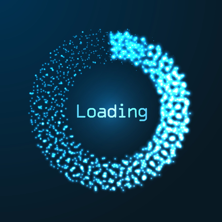 progress loading bar Illustration