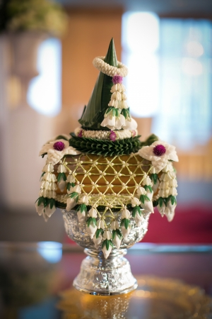 Thai wedding flower  photo