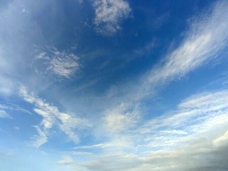 Blue sky with storm clouds Foto de archivo - 149594275
