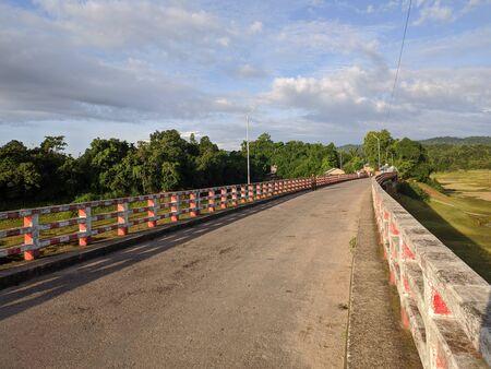 A bridge and natural scenery