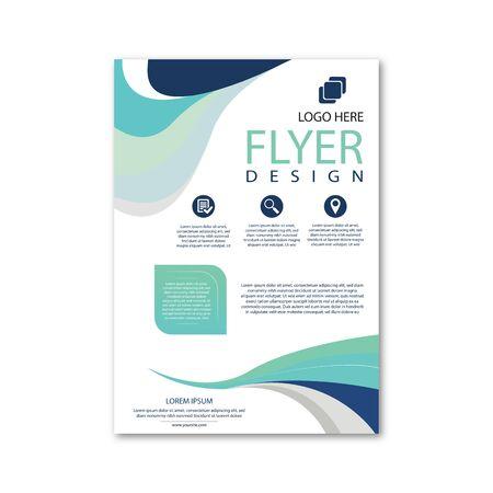 Corporate simple business flyer design