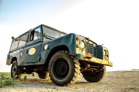 land vehicle: Vintage Transport Stock Photo