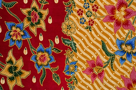Pattern and Batik Textile photo