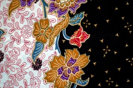 Pattern and Batik Textile Stock Photo - 17418949