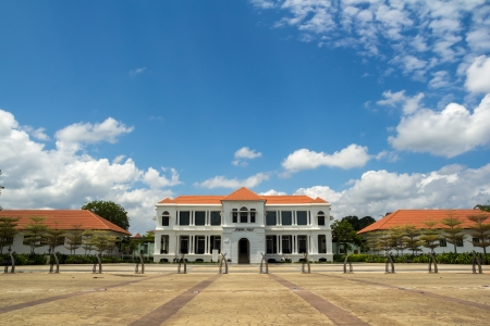 Sultan Abu Bakar Museum located at Pekan, Pahang, Malaysia