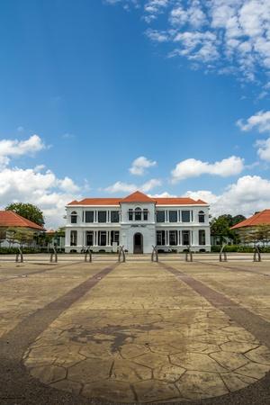 pekan: Sultan Abu Bakar Museum located at Pekan, Pahang, Malaysia