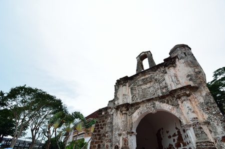 The Ancient Fortress, A Famosa at Malacca
