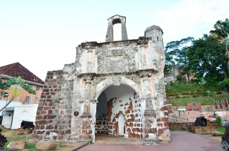 melacca: The Ancient Fortress, A Famosa at Malacca