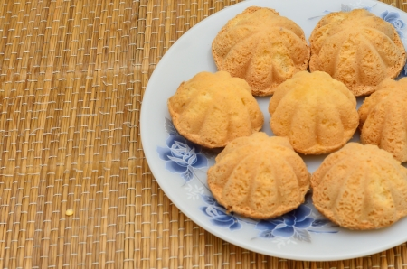 Bahulu is traditional muffin in Asia Stock Photo - 20152405