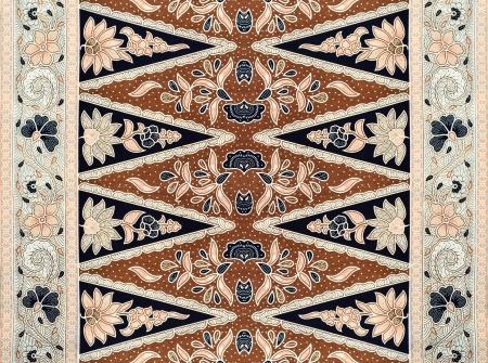 パターンの伝統的な服マレーシアはバティックを含める 写真素材