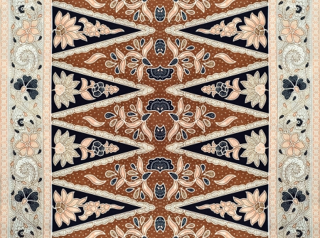 Reticolo per i vestiti tradizionali malaysia includono batik Archivio Fotografico - 20152455