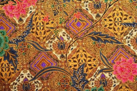 Motif de vêtements traditionnels Malaisie comprennent batik